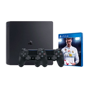 Consola Playstation 4 Ps4 Slim 1tb + Fifa 18