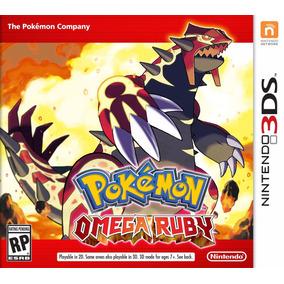 Pokemon Omega Ruby Nintendo Sellado   Fisico   3ds   Local