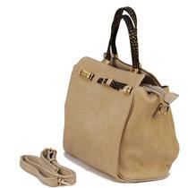 Bolsa Feminina Chenson Handbag Grande Bege 3480492