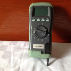 Analizados Electrónico De Gases De Combustión Testoryt 3