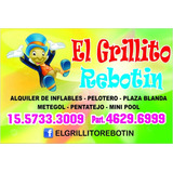 Alquiler De Inflable Plaza Blanda Pelotero Metegol Minipool