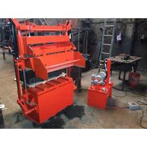 Maquina Bloquera Hidraulica 8piezas 12x20x40 Envio Incluido!