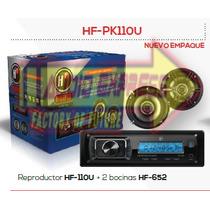 Paquete De Estereo Y Dos Bocinas 6 1/2 Hfpk110u