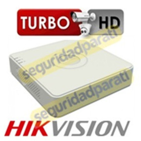 Dvr Hikvision Turbo Hd 4 Canales Modelo Ds 7104hghi F1