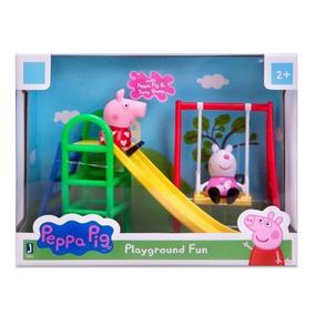 Parque De Diversão Com Peppa Pig E Suzy - Original P.entrega