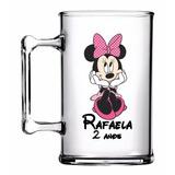 35 Canecas Acrílicas Personalizadas Minnie Rosa 300ml