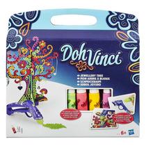 Set Doh Vinci Árbol Joyero Hasbro Nuevo