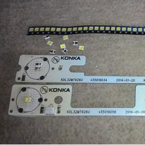 Led 6v Tv Semp Toshiba Para Manutenção Em Barra Konka