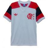 Camisa Retro Flamengo 1981 Branca no Mercado Livre Brasil 59a0e47335304