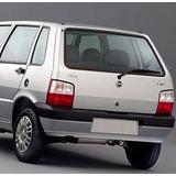 Luneta Fiat Uno 1987 Al 2009 3=5 Puertas Termica Verde
