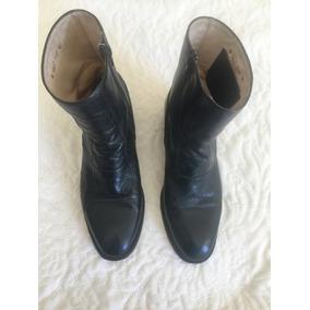 Bota Sapato Fascar Masculino - 40 Couro Legítimo