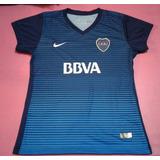 Camiseta Boca Juniors Suplente 2017 Dama Talles