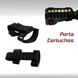 Porta Cartuchos Municiones Holster Caceria Escopeta Rifle