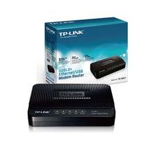 Modem Tp-link Adsl2+modem Td-8616 Internet. Mundo Black