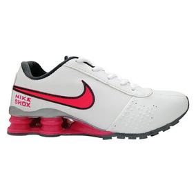 Tênis Feminino Nike Shox Classic Branco E Pink