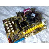 Placa Mae 775 Ddr2 P5sd2-vm+ Dual Core 2180+ Espelho