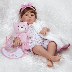 Boneca Reborn Paradise Galleries Real Life Pink Baby
