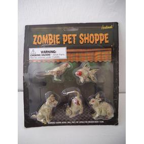 Perro, Gato, Loro, Conejo Y Pez Zombie Pet Shoppe