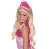 Rubies Barbie Y La Princesa Perla Lumina Peluca Con...