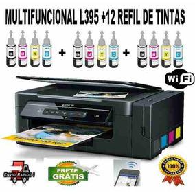 Impressora Epson L396 Com 12 Refil De Tintas Original