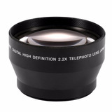 Lente Teleconvertidor/telefoto 2x Para Camaras Slr Para 58mm