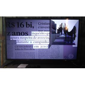 Smart Tv Samsung 4k Ultra Hd, 40 Polegadas, Tela Rachada