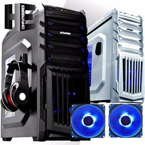Gabinete Pc Gamer Pcyes New Tiger Atx Acrílico S/fonte Top