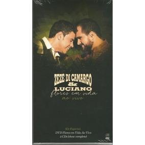Zeze Di Camargo & Luaciano Flores Em Vida Dvd + 2 Cds Novo