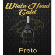 Grip Cartuchos Gold Catraca Regulavél Tatuagem White Head