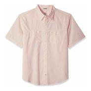 Izod Saltwater Surfcaster Camisa Pesca  L