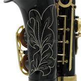 Nuevo Profesional Eb Alto Saxofón Saxofón Con Estuche Y
