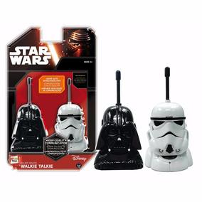 Walkie Talkie Star Wars Darth Vader Y Trooper Original