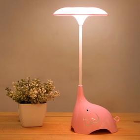 lmpara elefante para cuarto de bebe nia con batera rosa