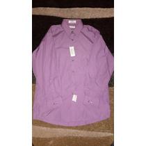 Camisa Hombre Vanheusen Nueva Talla 16 32/33 Grande