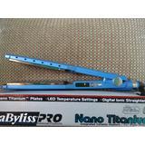 Plancha Babyliss Pro Nano Titanium 1 3/4. Usada