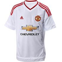 Playera Visitante Manchester United Fc Niños 15/16 Ai6360