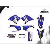 Kit Gráfico Para Moto Ttr 230 Yamaha Adesivo Faixa