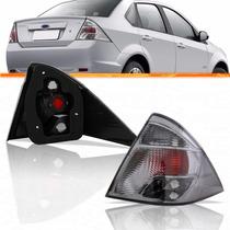 Lanterna Fiesta Sedan Fumê 2010 2011 2012 2013 10 11 12 13