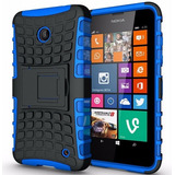 Capa Anti Impacto Nokia Lumia 630 635 Top + 1 Película Vidro