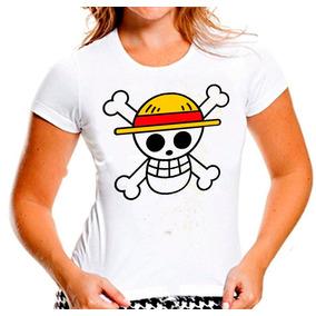 Baby Look One Piece Monkey D. Luffy O Chapéu De Palha 693 6d0c35303c0