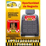 Oportunidad De Concepto De Negocio Publitaxi + App