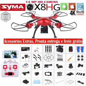 Drone Syma X8hg Fpv + Função Barômetro C/ Câmera 4k Ultrahd