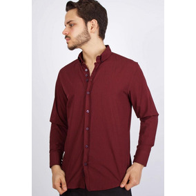 Camisa Algodon Alex Vino