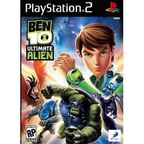 Jogo Ps2 Ben 10 Ultimate Alien + Frete Grátis.