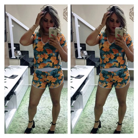 Moda Feminina Verão Conjunto Envio Imediato Praia Blusa Body