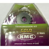 Kit Relaçao Kmc Completo Gs500 Com Retentor Aço 1045