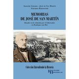 Libro Memorias De José De San Martín