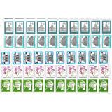 1000 Estampillas Argentinas Nuevas. Planchas Mint Completas