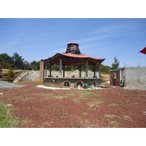 Terreno: Zona Boscosa Con Construcción De Cabaña En Kiosco