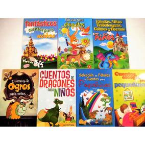 Paquete Cuentos Y Fábulas Para Pequeñines 7 Libros